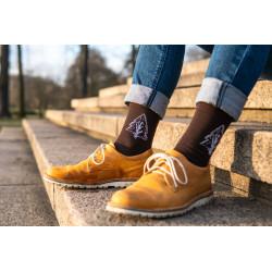 Ponožky jehličnan- Lesotriko