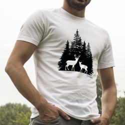 Jelení dvojka v lese-...