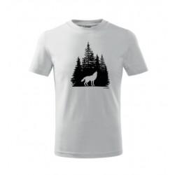 Vlk v lese