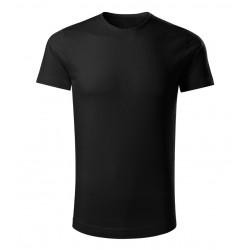 Triko černé- Bio bavlna