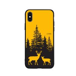iPhone- Jelení dvojka- žlutá