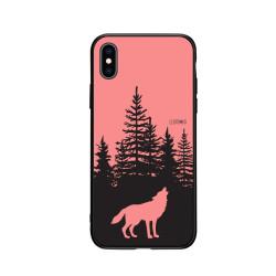 iPhone- Kryt- Vlk v lese