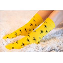 Ponožky Včeličky dětské-...