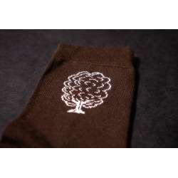 Ponožky Listnáč- Lesotriko