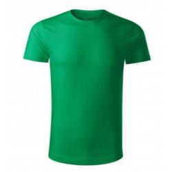 Triko zelené- Bio bavlna-...