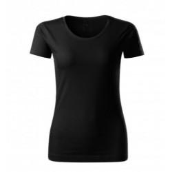 Triko černé- Bio bavlna-...
