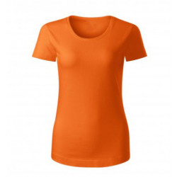 Triko oranžové- Bio bavlna-...